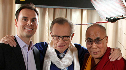 Brendon Burchard, Larry King, and The Dalai Lama