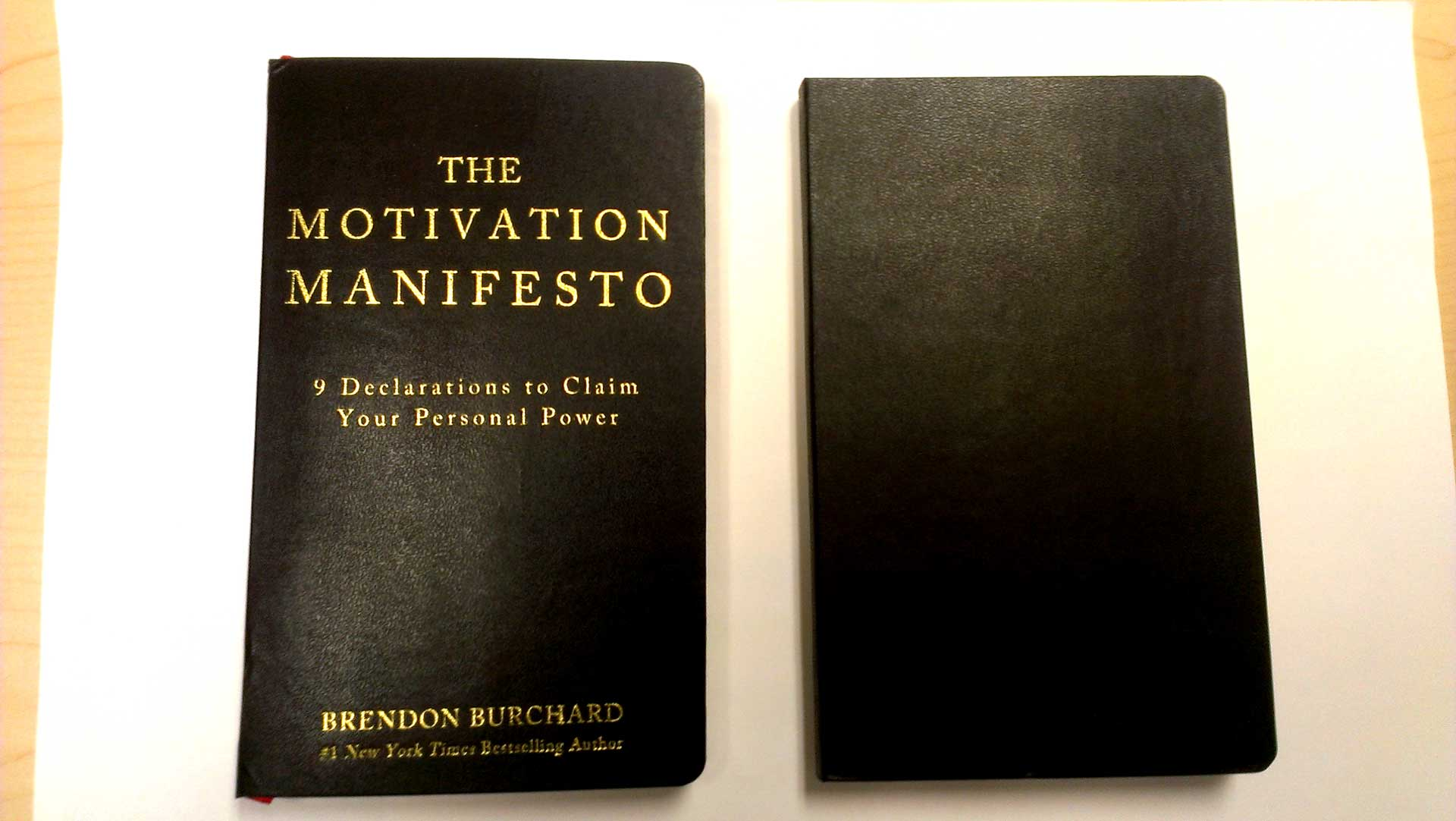 Brendon Burchard's Motivation Manifesto book