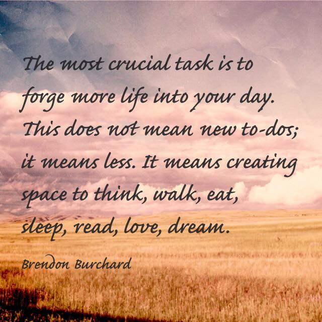 personal development, Motivation Manifesto, Brendon Burchard, The Charged Life, Less To Dos