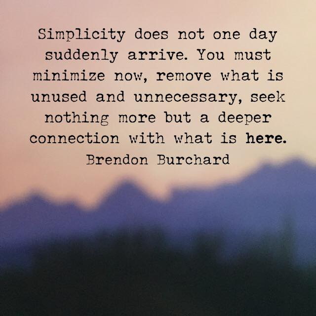 personal development, Motivation Manifesto, Brendon Burchard, The Charged Life, Simplicity
