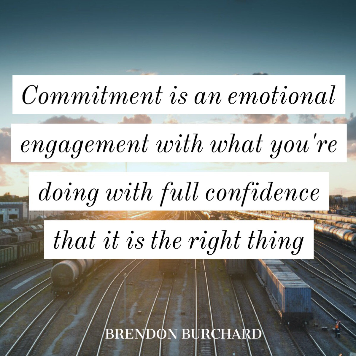 commitment, motivation manifesto, brendon burchard