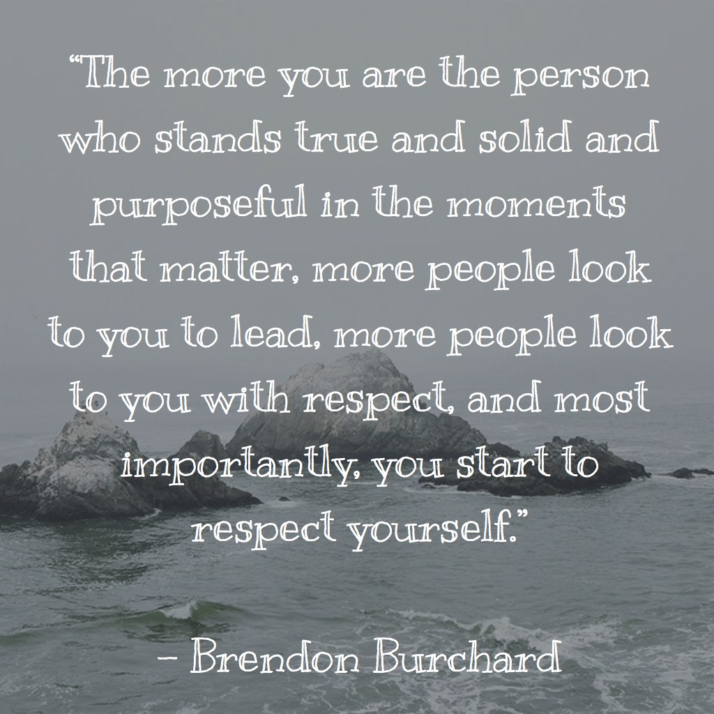Purposeful, Motivation Manifesto, Personal Development, Brendon Burchard