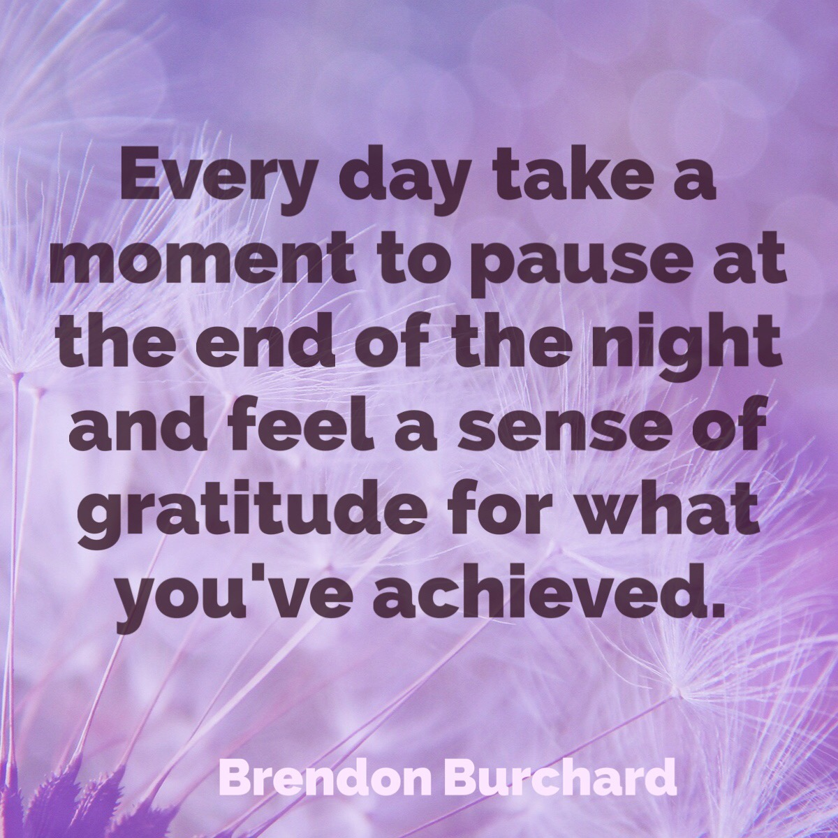 Brendon Burchard, Motivation Manifesto, The Charged Life, Be Grateful