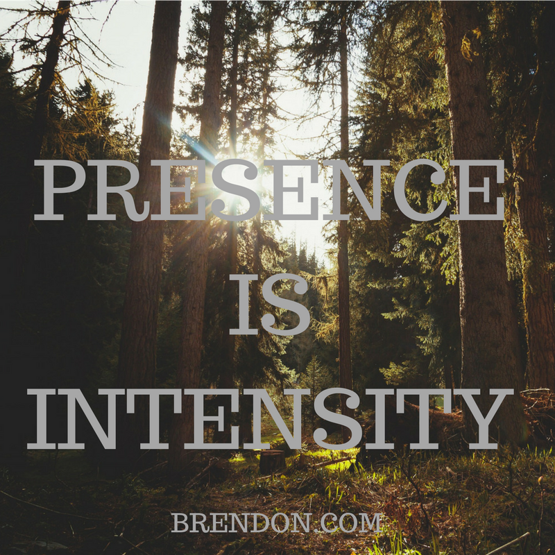 TheChargedLife-119-presenceisintensity-BrendonBurchardQuotes