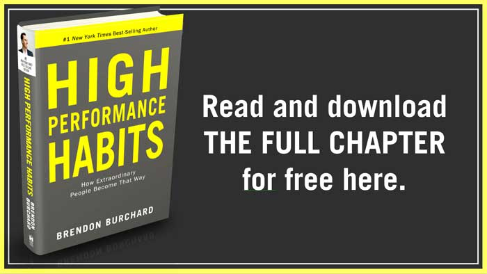 High Performance Habits FREE CHAPTER