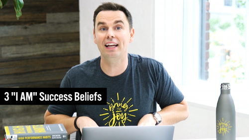 40-3 I AM Success Beliefs - Thumbnail 1 - 1920x1080 - TEXT