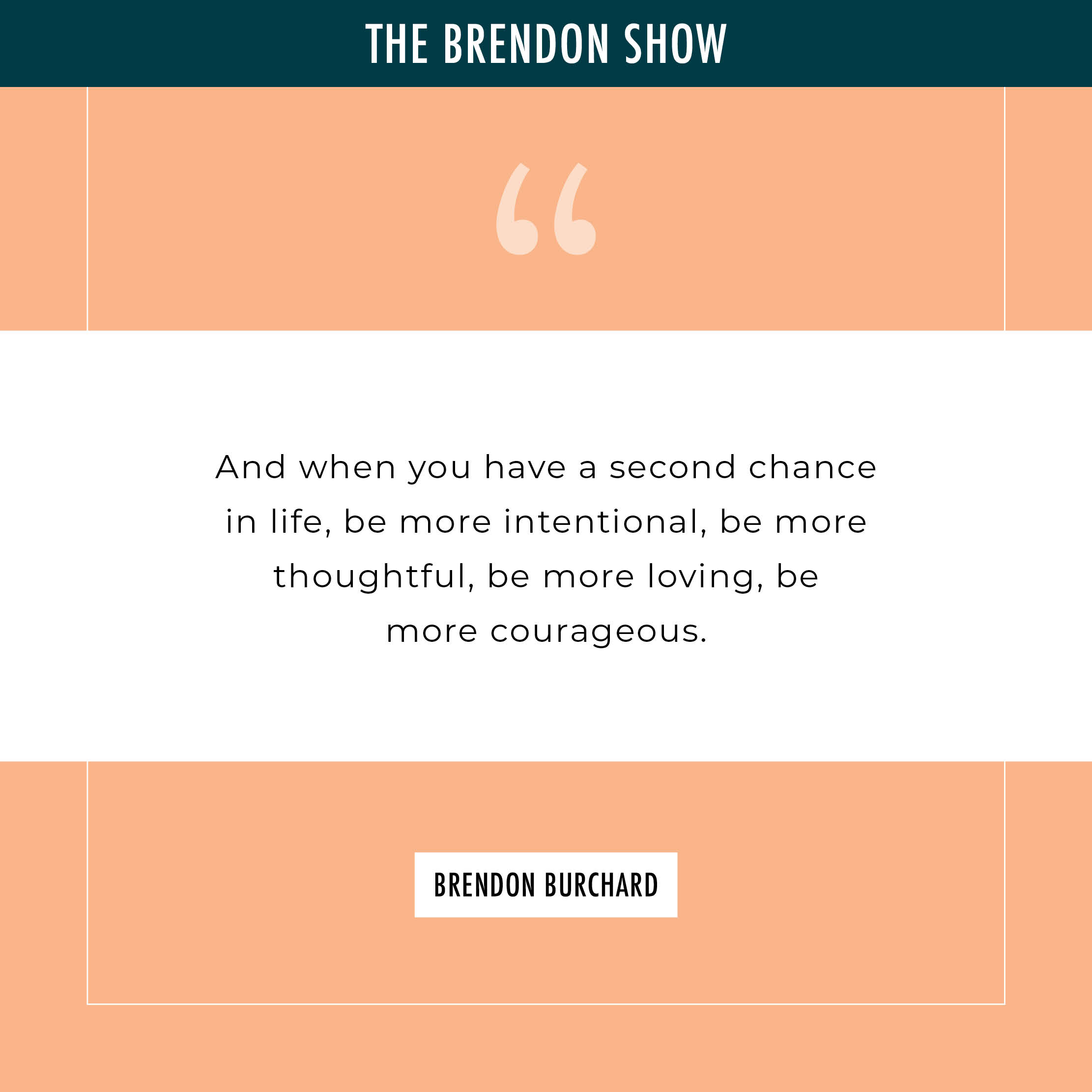 Three Transformational Events in My Life - Brendon Burchard